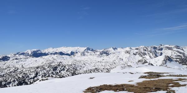 Schneibstein-Blickrichtung Süden