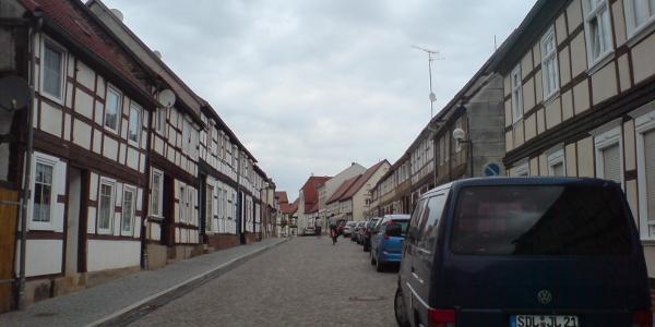 Fachwerk an Fachwerk in Arneburg