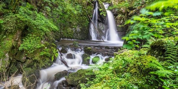 Strahlbrusch-Wasserfall im Murgtal