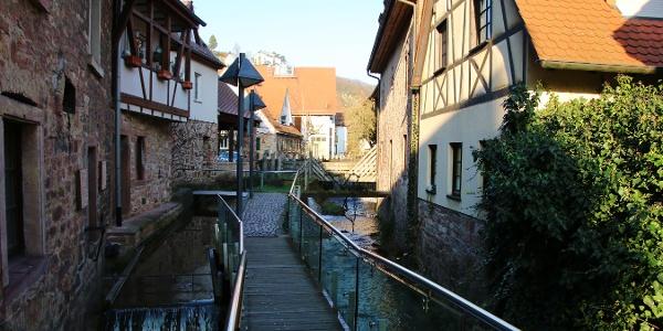 Der Kanzelbach in der Schriesheimer Altstadt