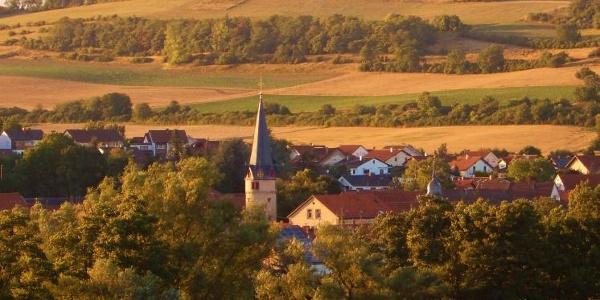 Abendstimmung in Marnheim