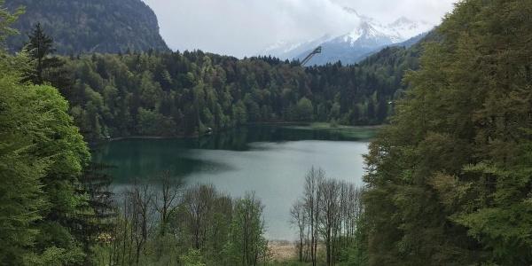 "Lake ""Freibergsee"""