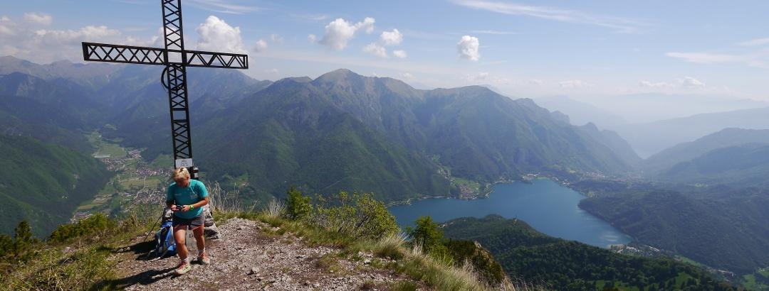 Auf dem Monte Corno