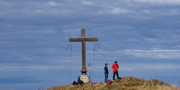 Gipfelkreuz auf der Winterstaude