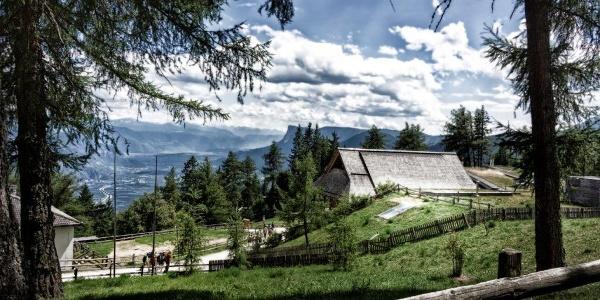 Primo giorno - Vigilius Mountain Resort - punto di partenza della Via Vigilius