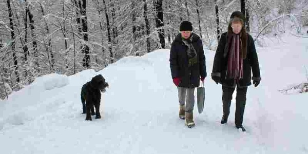 Winterwandern in Bad Grund