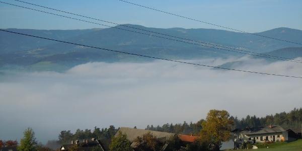Aussicht vom Wachahof in Edlitz | Bucklige Welt