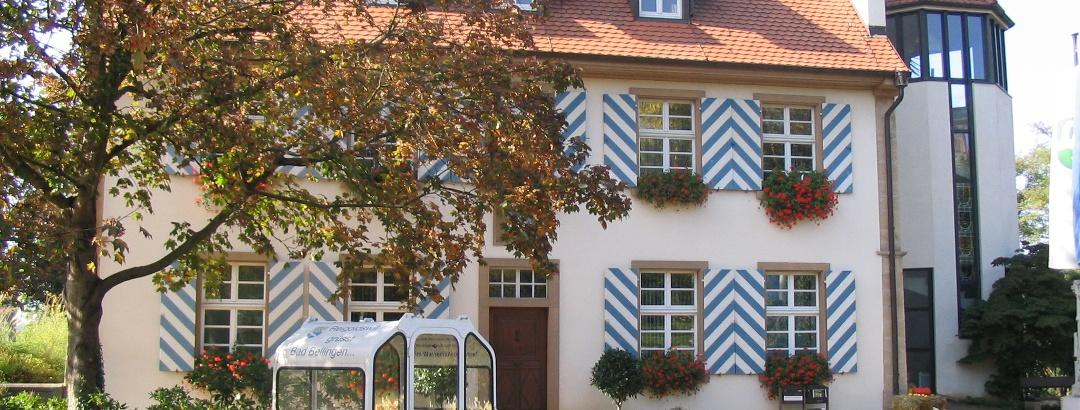 Das Rathaus in Bad Bellingen