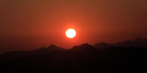 Sonnenaufgang am Fulseck