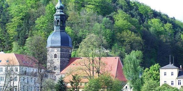 Die Johanniskirche in Bad Schandau.