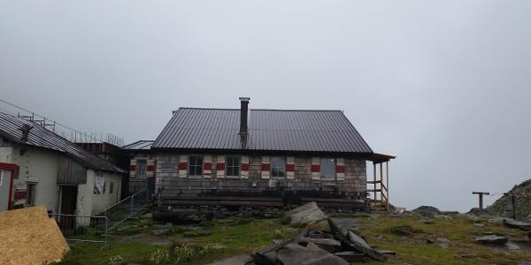 alte Edelrauthütte, neue Hütte ab Juni 2016 bereit