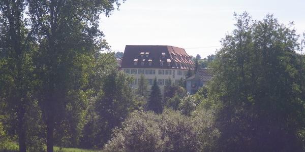 Schloss und Landschaft