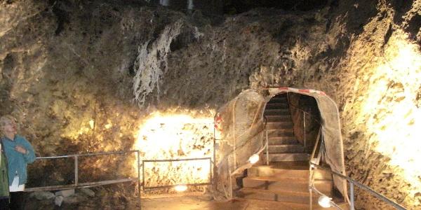 Untere Sohle - Marienglashöhle