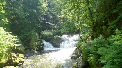 Wasserfälle der Wesenitz bei der Daubemühle