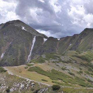Kammwanderung über den Lattenberg (rechts)  vom Bärensulsattel aus