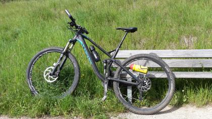 ein sauberes bike