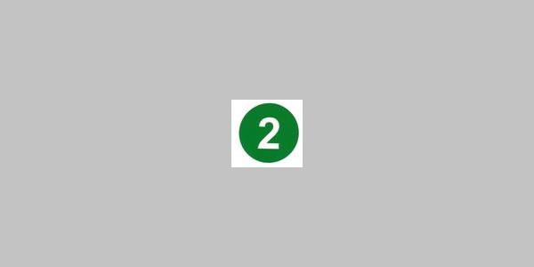 Kennzeichnung Rundwanderweg Nr. 2