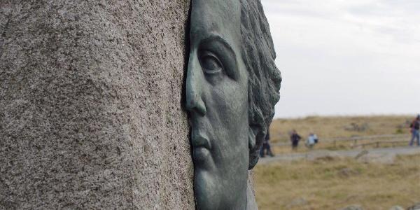 Heinrich Heine Gedenkstein auf dem Brocken