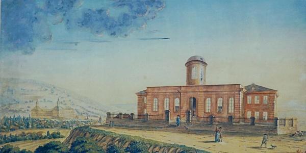 Historische Darstellung - Alte Sternwarte Gotha