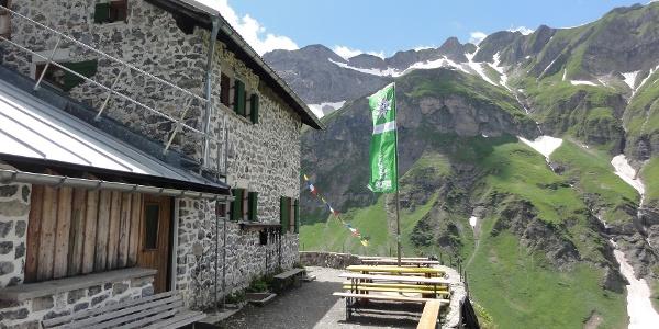 Terrasse der Simmshütte