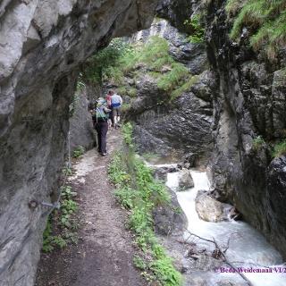 Weg in der Ehnbachklamm
