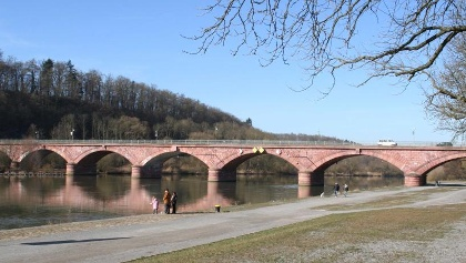Alte Mainbrücke von Marktheidenfeld