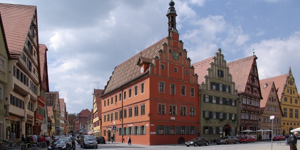 Dinkelsbühl, Marktplatz