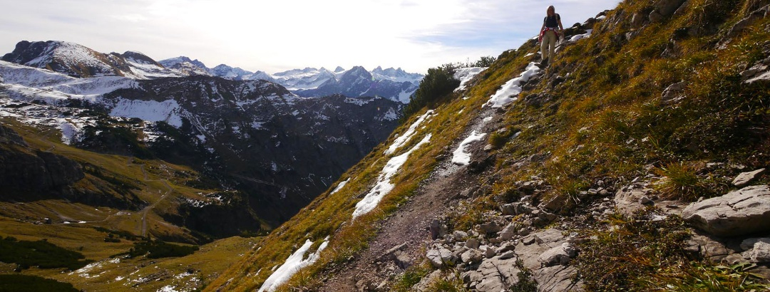 The most beautiful Allgaeu mountain tours for beginners