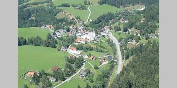 Blick auf Hirschegg