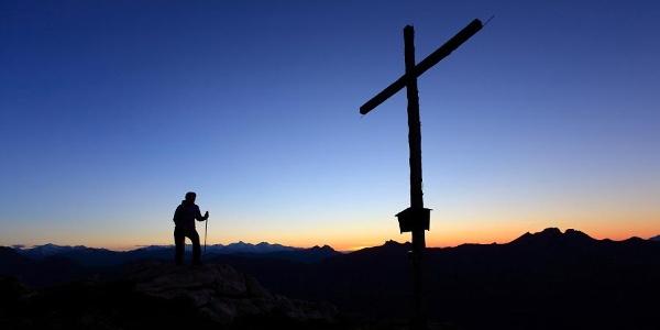 Sonnenuntergang am Saukarkopf