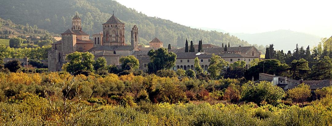 Monestir de Santa Maria de Poblet en Tarragona