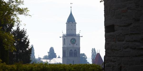 Blick auf den Münsterturm