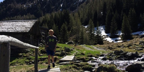 Überquerung Obertalbach bei der Neualm