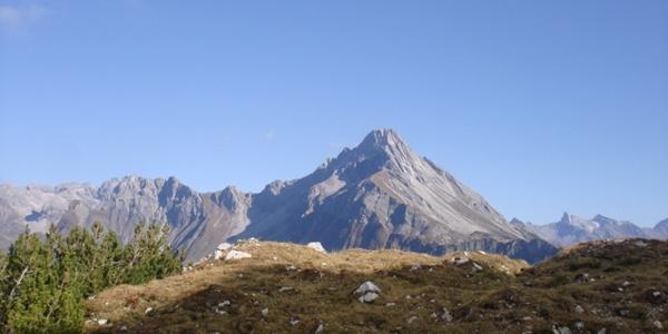 Weg zur Mindelheimerhütte