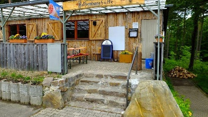 Rothenburghütte am Aussichtsturm
