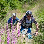 Mountainbiken im Trailground Brilon