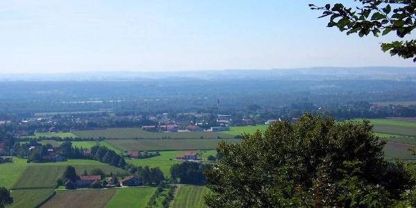 Ausblick am Schlossberg