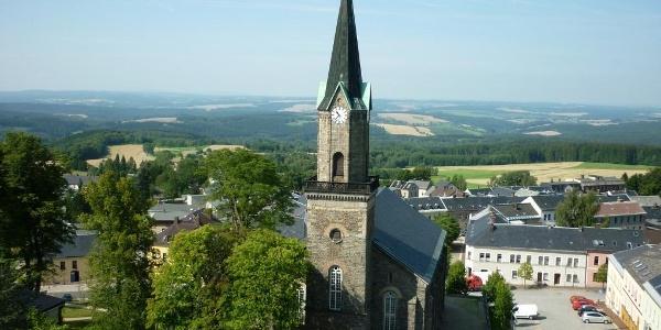 Schöneck - Blick vom Alten Söll