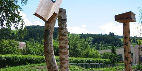 NaturLesePark - Skulpturen