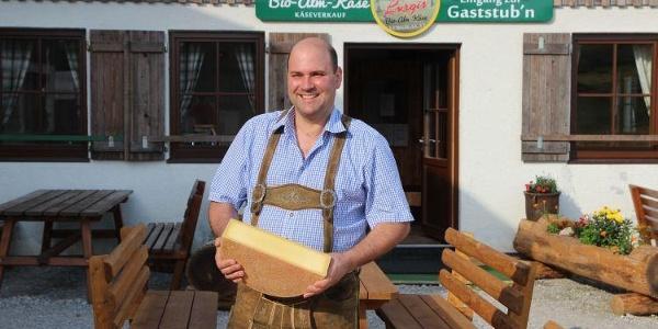 Martin Bayer - der Wirt der Lurgbauerhütte