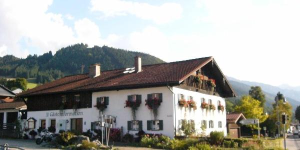 Gästeinformation/Tourist Information Buching
