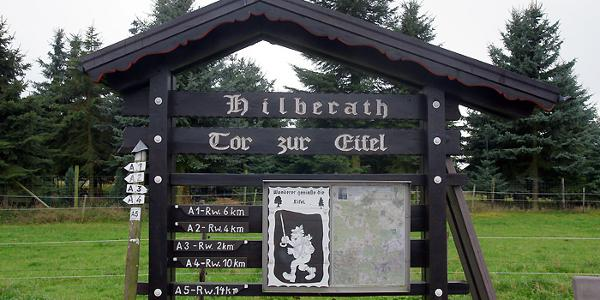 Tor zur Eifel in Hilberath