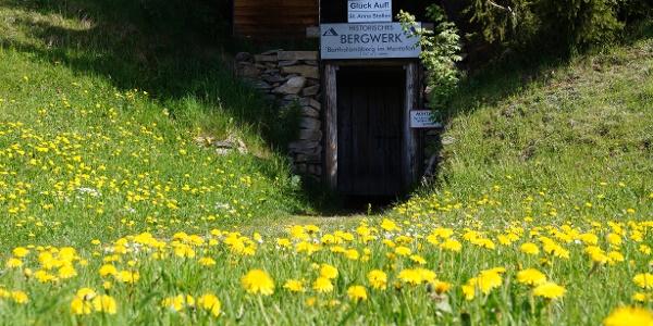 Eingang Historisches Bergwerk