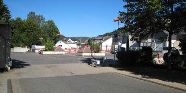 Start und Ziel: Parkpalette Adenau Zentrum