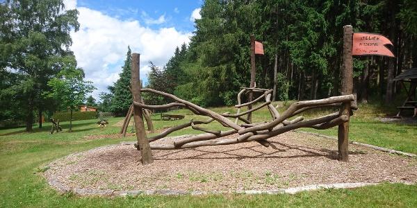 Spielplatz am Bauverein Schmiedeberg