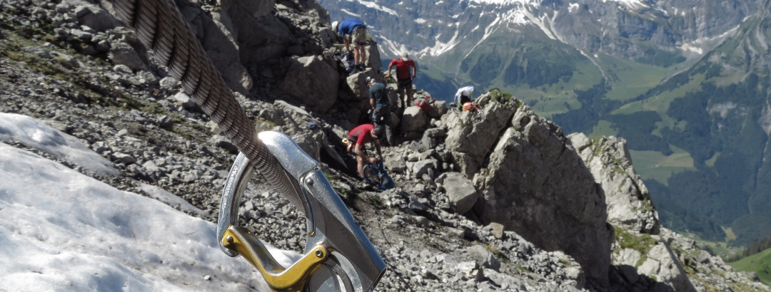 Klettersteige in Engelberg-Titlis