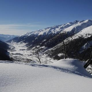 Talblick Winter