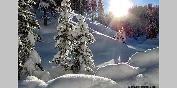Winter im Mariazeller Land