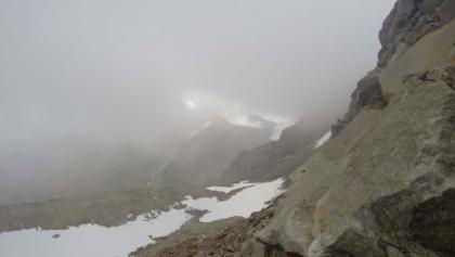 Schneefeld zwischen Ramolhaus und Ramoljoch