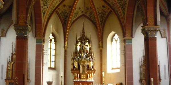 in der Kirche St. Sebastian